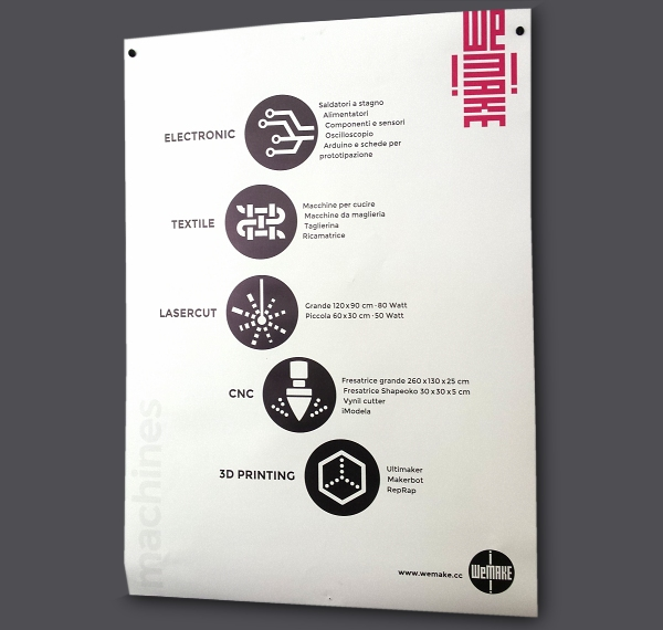 WeMake poster