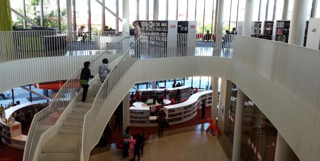 Chinatown library interior