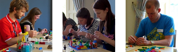 Lego workshop at University of Bristol