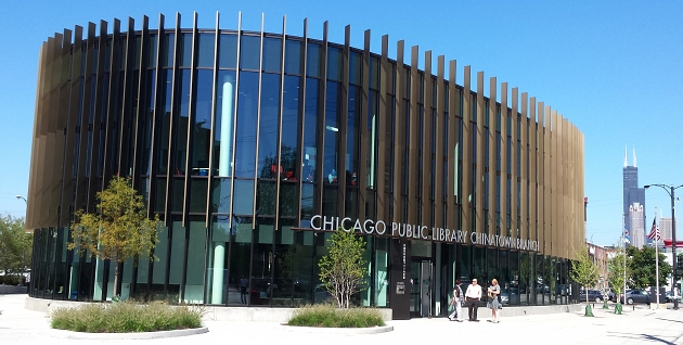 Chicago Chinatown library
